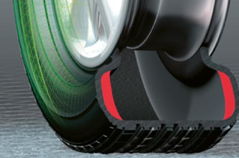 Công nghệ Run-Flat – Xẹp lốp vẫn chạy