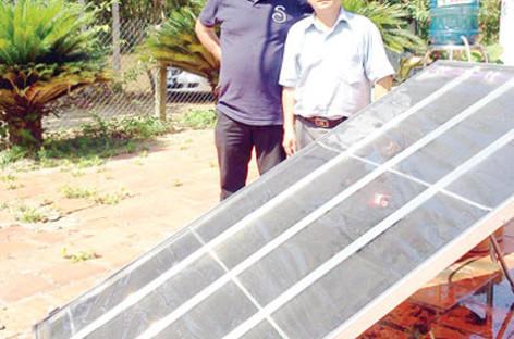 Tấm năng lượng mặt trời Carocell biến nước ao hồ, sông suối, nước biển… thành nước tinh khiết, nước sinh hoạt