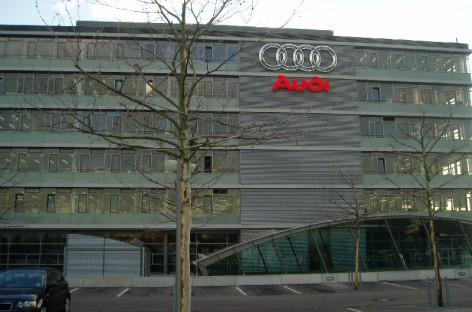 Nhà máy Audi ở Ingolstadt (Đức)