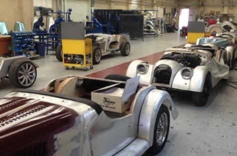 Xưởng lắp ráp ô tô Morgan tại Malvern, Anh