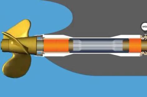 Nguyên tắc hoạt động của ổ đỡ ống bao trục chân vịt