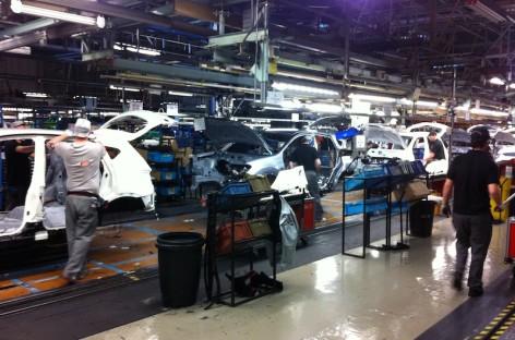 Quy trình sản xuất tại nhà máy sản xuất xe Nissan