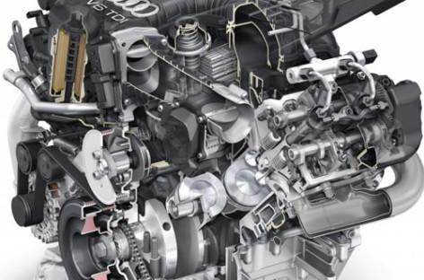 """Audi tiết lộ động cơ diesel """"sạch"""" hoàn toàn mới 3.0L TDI"""