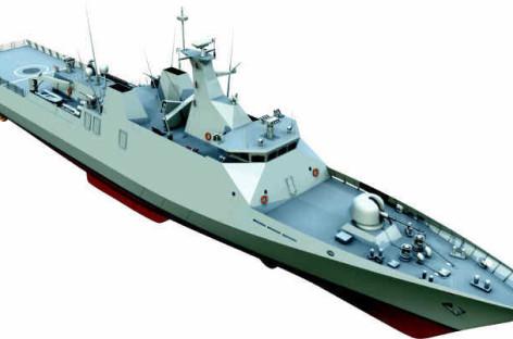 Quá trình hạ thủy tàu FMMM3 SIGMA 9813 tại xưởng tàu Damen Schelde