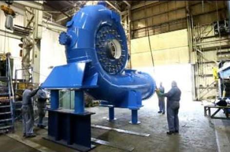 Hoạt động sản xuất tua bin nước của Ebco