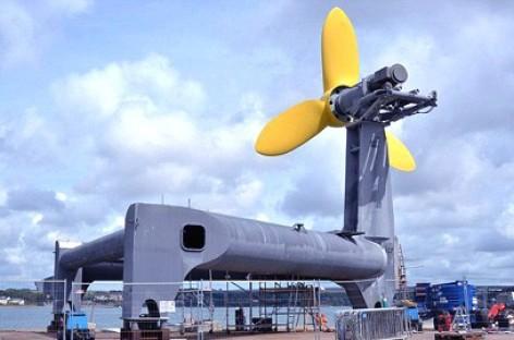 Hệ thống phát điện chạy bằng năng lượng thủy triều