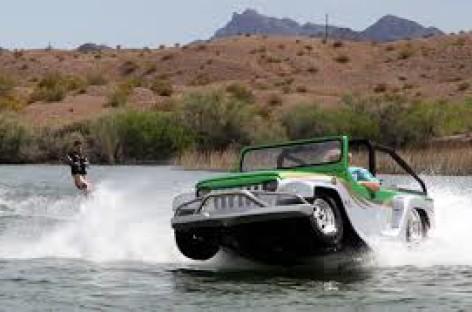 Panther – xe chạy trên nước nhanh nhất thế giới