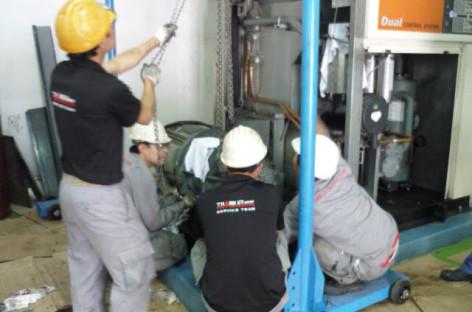 Vai trò và cách bảo dưỡng máy nén khí