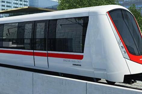 Bombardier ra mắt tàu điện Innovia Metro 300 tại Riyadh