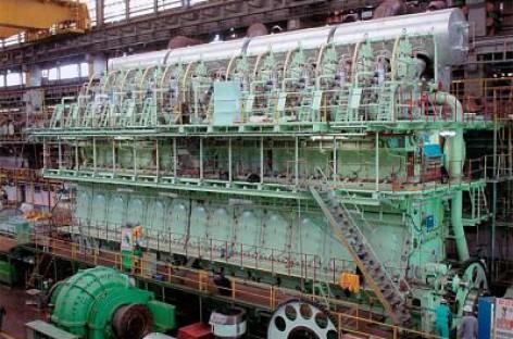 Động cơ diesel thuộc loại lớn nhất thế giới của Wärtsilä