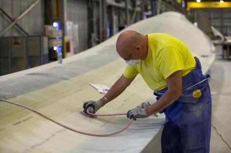 Xưởng sản xuất tua bin gió – PowerBlades, Canada