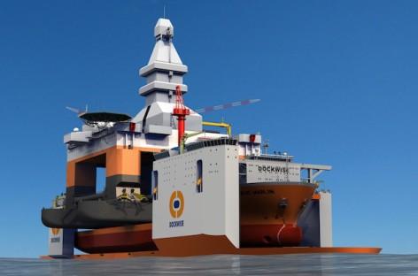 Khám phá tàu chở hàng siêu nặng của Dockwise