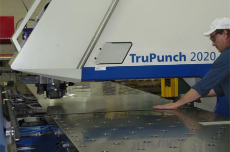 Giới thiệu máy đột dập Trupunch 2020 của hãng TRUMPF