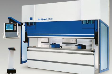 TruBend 5000 – máy chấn linh hoạt của TRUMPF
