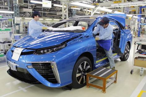 Toyota Mirai và quy trình lắp ráp phong cách siêu xe