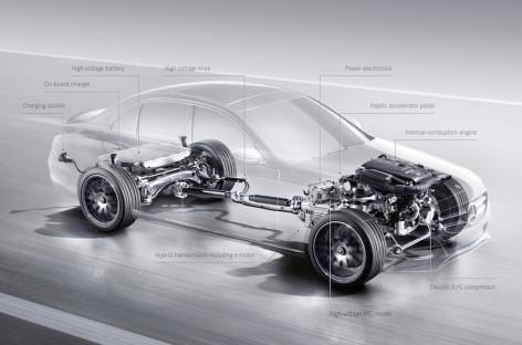 Mercedes Benz sẽ giới thiệu 10 xe hybrid chạy điện từ đây đến 2017
