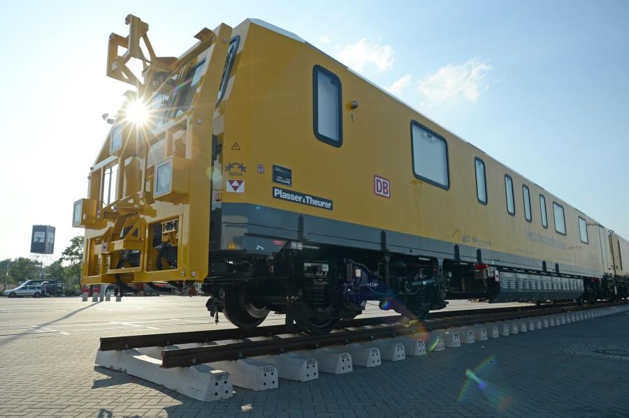 43. InnoTrans2014_Plasser & Theurer Export von Bahnbaumaschinen G.m.b.H., GMTZ-STW Gleismesstriebzug