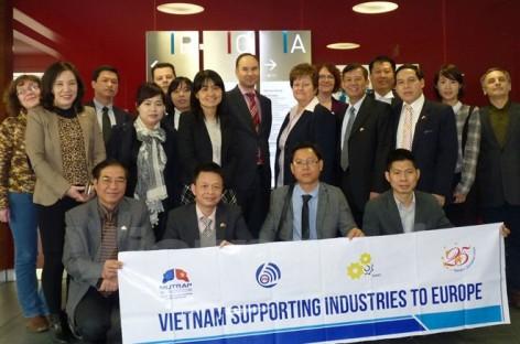 Công nghiệp phụ trợ Việt Nam nhắm tới các thị trường châu Âu