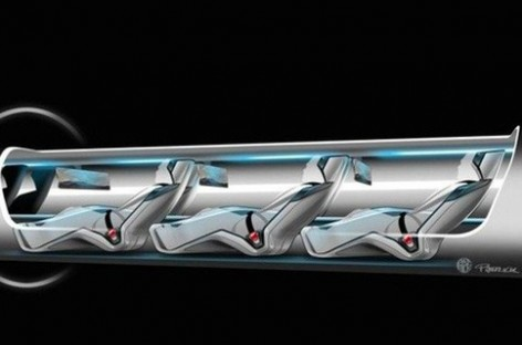 Hình ảnh bước đầu xây dựng Hyperloop