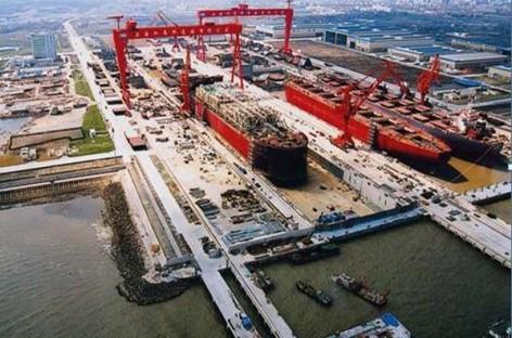 Nhà máy đóng tàu Hàn Quốc lớn nhất thế giới