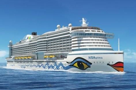 Quá trình xây dựng tàu du lịch AIDAprima