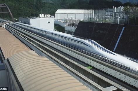 Tàu cao tốc Nhật phá kỷ lục về tốc độ