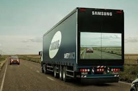 Xe tải nhìn xuyên giúp giảm tai nạn