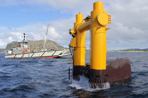 Hệ thống khai thác năng lượng sóng biển của Mỹ