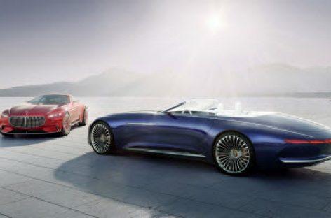 Vision Mercedes-Maybach 6 Cabriolet Concept ra mắt ở Pebble Beach với động cơ điện