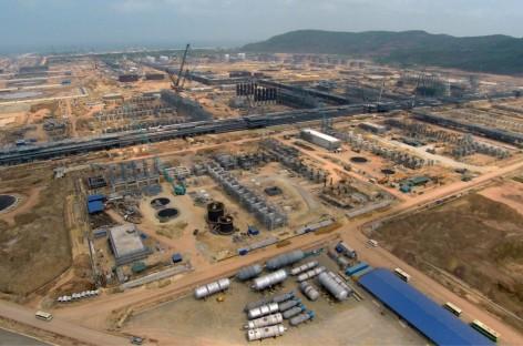 Lọc hóa dầu Nghi Sơn đang triển khai đúng tiến độ
