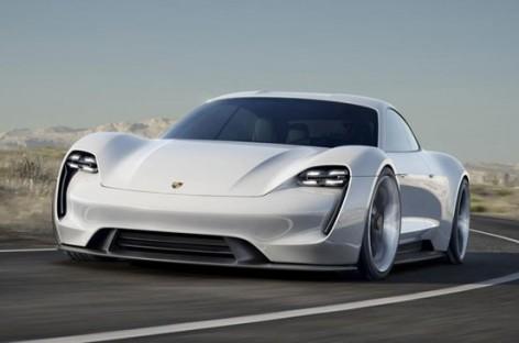 Ra mắt xe điện Porsche Mission E Concept