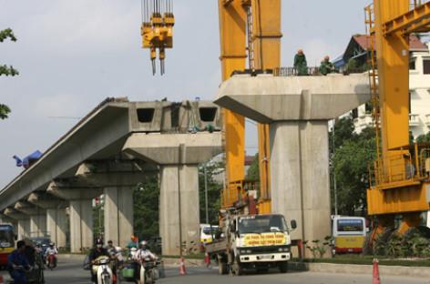 Trưng bày mẫu tàu đường sắt Cát Linh – Hà Đông