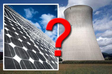 Nên lựa chọn năng lượng mặt trời hay năng lượng hạt nhân?