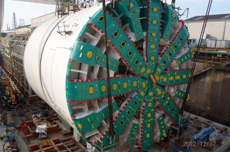 [Infographic] Cấu tạo và hoạt động của máy khoan hầm