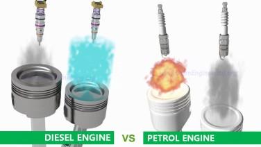 [Video] Sự khác nhau giữa động cơ xăng và động cơ dầu
