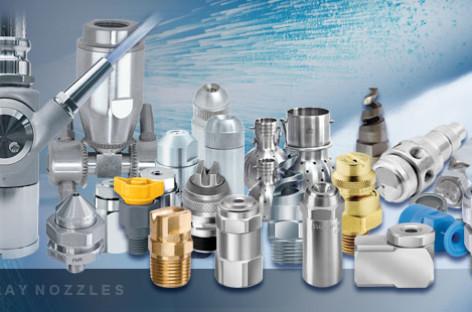 Cải thiện và nâng cao quy trình sản xuất với công nghệ phun của Spraying Systems