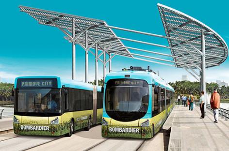 Giới thiệu xe điện Primove do Bombardier thiết kế và sản xuất