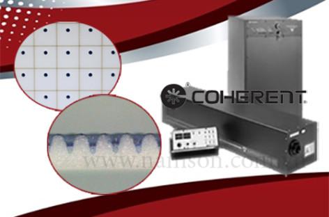 Khoan lỗ và rạch dấu trên nhôm Oxit bằng máy khắc laser CO2