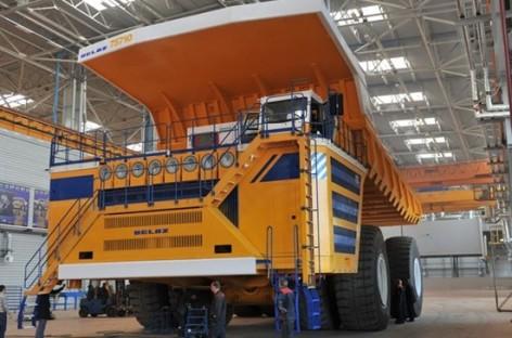 Chạy thử nghiệm xe điện trọng tải 90 tấn tại mỏ than