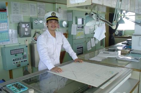 Giới thiệu sơ lược về buồng lái trên tàu thủy