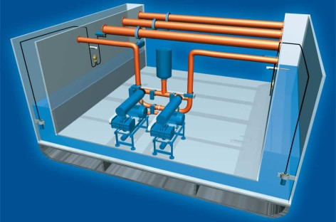 Hệ thống chống nghiêng trên tàu thủy