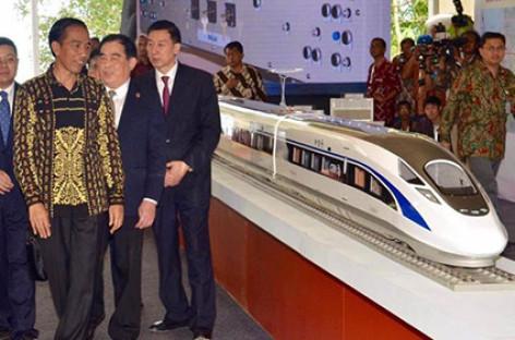 Indonesia khởi công dự án đường sắt cao tốc đầu tiên