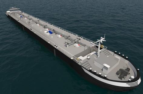 Shell chọn giải pháp linh hoạt của Wärtsilä cho 15 xà lan chạy bằng động cơ LNG