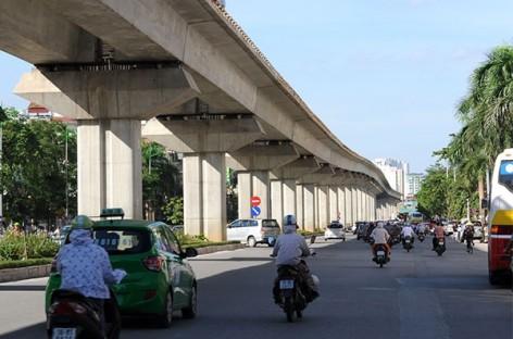 Thi công dứt điểm hạng mục dang dở tuyến đường sắt Cát Linh – Hà Đông