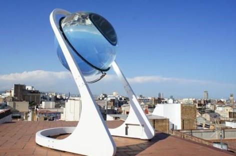 Ý tưởng mới để thu năng lượng mặt trời của một kiến trúc sư Đức