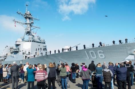 Hải quân Mỹ ra mắt tàu thủy chạy bằng năng lượng nhiên liệu sinh học đầu tiên