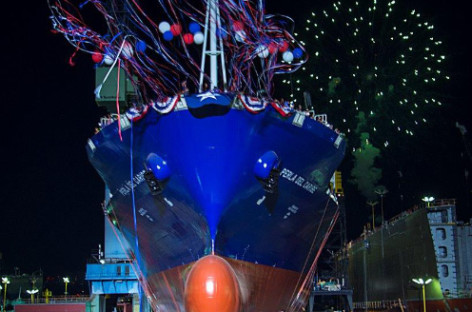 Vận tải container bằng đường biển sẽ thay đổi bởi những con tàu này