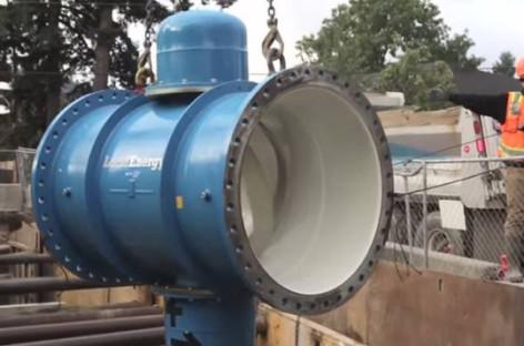 Sản xuất điện từ đường ống nước