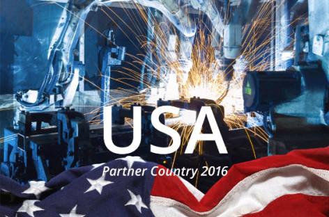 [Tiêu điểm tại Hannover Messe 2016] Hoa Kỳ: Quốc gia đối tác tại Hannover Messe 2016