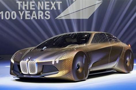 [Video] Mẫu xe Concept Vision Next 100 của BMW